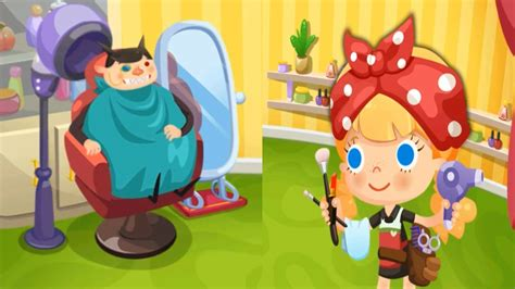 Kids Games Candy's Beauty Salon   Gameplay video for