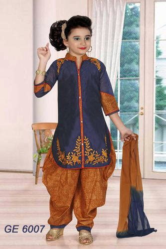 Kids Ethnic Wear - Salwar Suits for Girls Exporter from